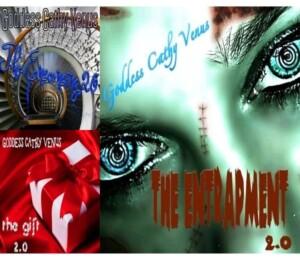 Goddess Cathy Venus - The Trilogy 2.0  (mp3 & CD) {3 files!}