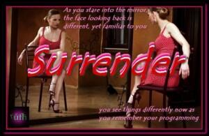 Surrender!!